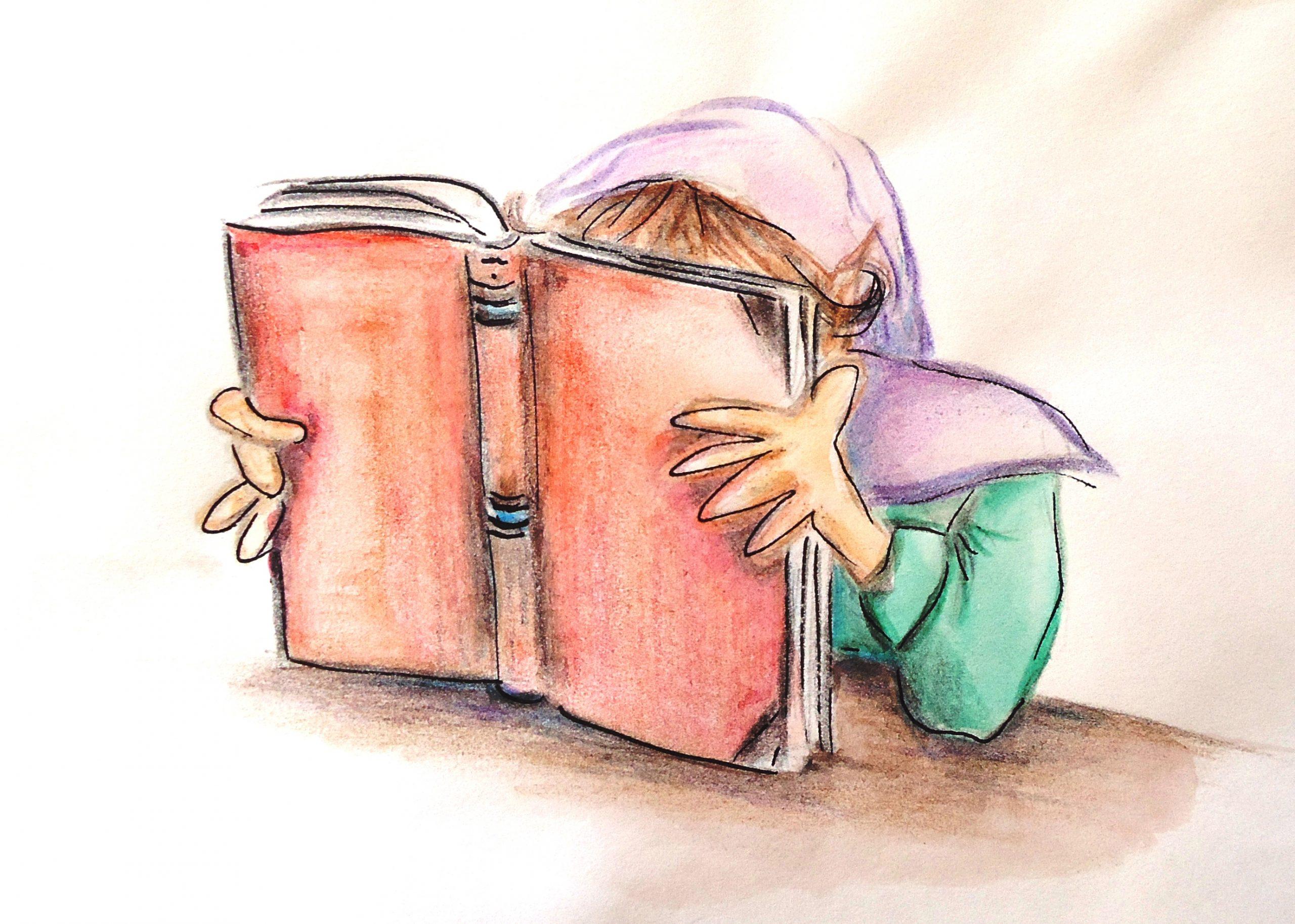Jairo libro leyendo